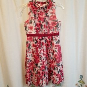 Floral Janie and Jack dress